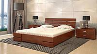 Кровать деревянная двуспальная с подъемным механизмом Дали Люкс ТМ Арбор Древ
