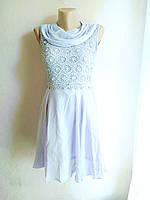Женский сарафан -платье воздушное сиреневое 40-46, фото 1