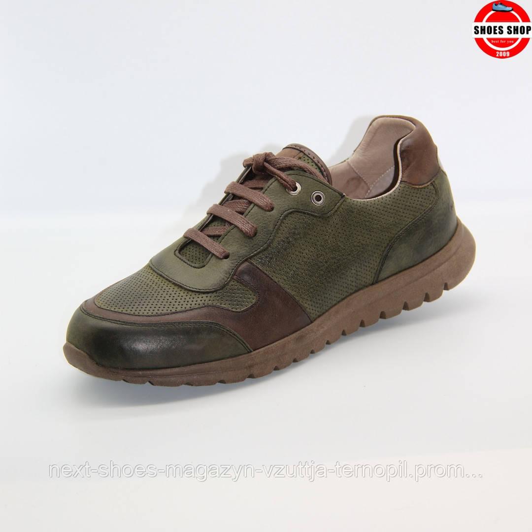 Чоловічі кросівки MAX MAYAR (Україна) зеленого кольору. Дуже зручні та красиві. Стиль - Метью Макконахі