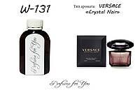 Женские наливные духи Crystal Noir Versace 125 мл