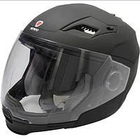 Мотошлем ISPIDO ARSEN черный матовый (со съемной бородой) размер XL