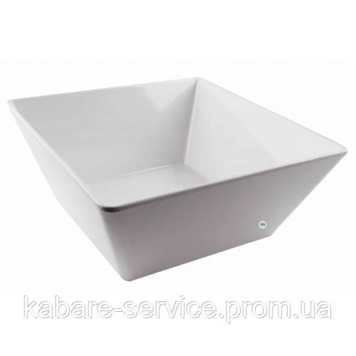 Меламиновая гастроемкость\Блюдо квадратное меламин 23,7*23,7*10 см