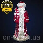 """3D фигура светодиодная """"Дед Мороз"""" 0.85х2х0.85, 107 Вт"""