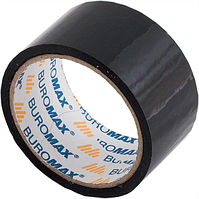 Скотч упаковочный Buromax Jobmax 48 мм x 35 м чёрный