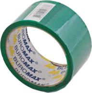 Скотч упаковочный Buromax Jobmax 48 мм x 35 м зелёный
