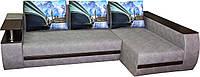 Угловой диван Версаль с выдвижным баром и нишей в подлокотниках