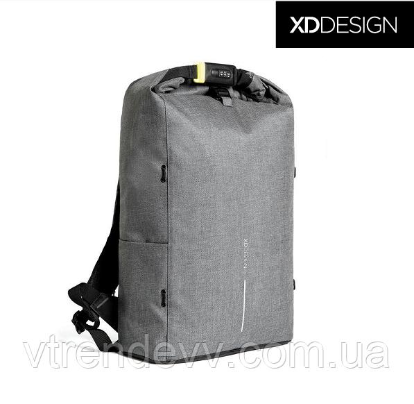 "Рюкзак антивор XD Design Bobby Urban 15.6"" Original Серый"