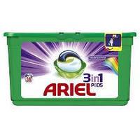 Капсулы для стирки белья Ariel Color & Style  3in1 Pods  38 шт.