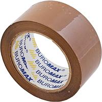 Скотч упаковочный Buromax 48 мм x 98 м x 45 мкм коричневый
