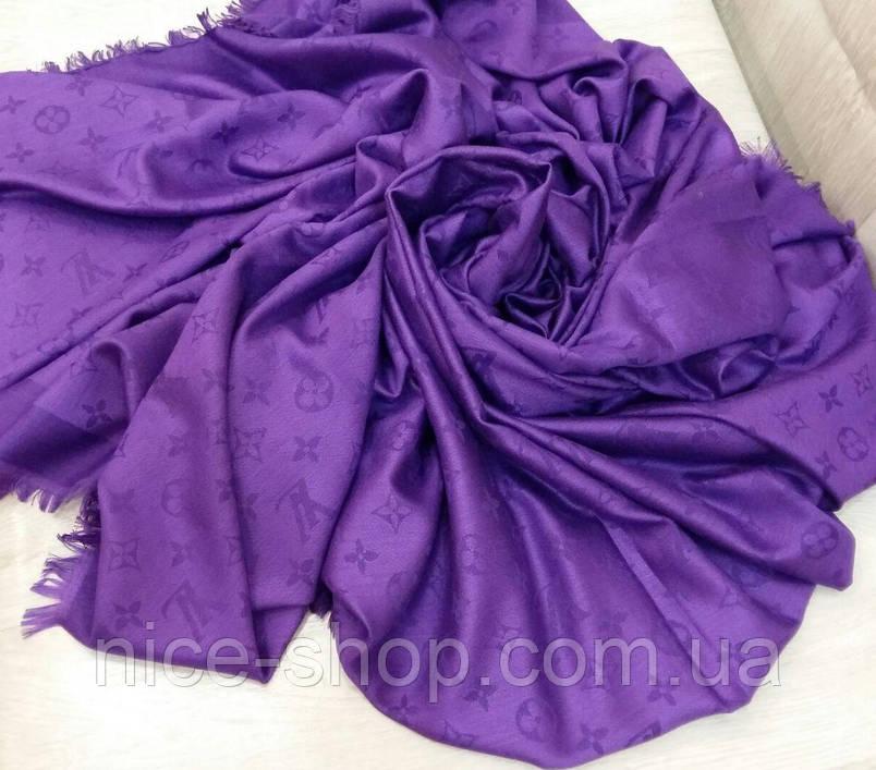 Платок Louis Vuitton фиолетовый, фото 2