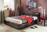 Кровать Релакс MW1800 (Темно коричневая), Embawood, фото 5