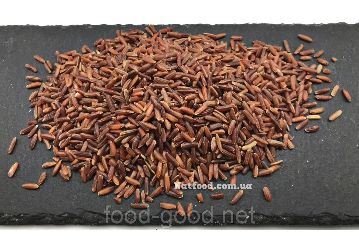 Рис красный нешлифованный, 1кг
