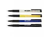 Ручка шариковая 4Office Ball pen автоматическая 4-2001 синяя, фото 1