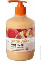 Крем-мыло жидкое FRESH JUICE 460 мл Peach&Magnolia