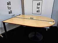 Стіл офісний заокругленний, фото 1