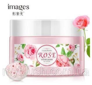 Увлажняющая альгинатная маска с розой Images Rose Cristal Powder, 75 g