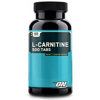 Optimum Nutrition Жиросжигатель Optimum Nutrition L-carnitine 500, 60 таб.
