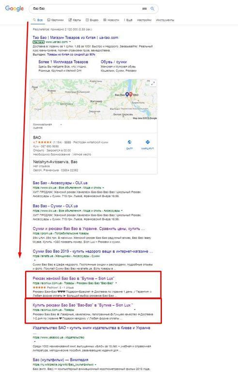 Наполнение сайта с нуля и вывод в ТОП, Киев 4
