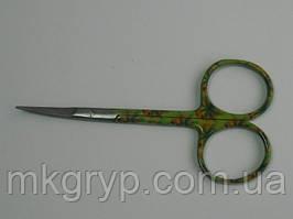 Маникюрные униыерсальные ножницы для кутикулы NAIT STS 0178-1. Ручная звточка. Обработаны термически