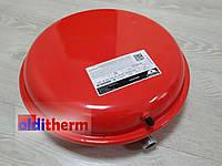 """Бак расширительный для отопления  Zilmet OEM-PRO 10L D324 3/4"""" плоский"""