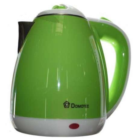 Электрочайник пластиковый дисковый 1.8л 1500Вт DOMOTEC DT-901