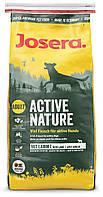 Сухой корм Josera Active Nature для активных собак с повышенным содержанием мяса ягненка и птицы 15кг