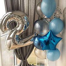 Гелієві кульки для хлопчика