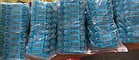 Ушная бирка для овец и коз 52*18 синяя набор (001-500)