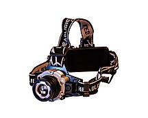 Налобный фонарь P-002-T6 3 режима (2005)