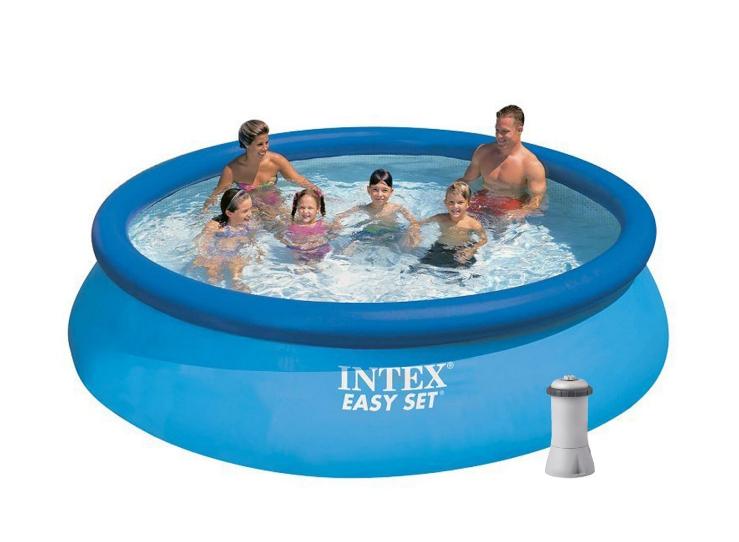 Надувной бассейн Intex 28132 с кантриджным наносом