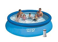 Надувной бассейн Intex 28132 с кантриджным наносом, фото 1