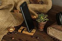 Деревянный аксессуар подставка для смартфона, Практичный настольный органайзер для дома офиса из древа ореха