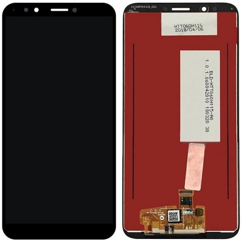 Дисплей для HTC Desire 12 с тачскрином черный Оригинал