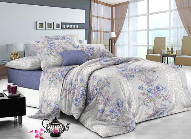 Комплекты постельного белья из САТИНА (хлопок 100%)