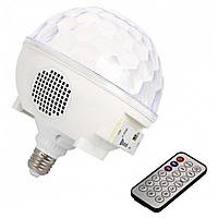 Диско шар в патрон LED Cryst almagic ball light E27 997 BT