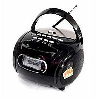 Бумбокс колонка MP3 USB радио Golon RX 186 Black, фото 1