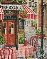 Алмазная мозаика Любимое кафе, 40x50 см, Идейка