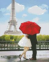 Алмазная мозаика Любовь в Париже, 40x50 см, фото 1