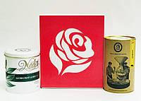 Подарочный  набор чайно-кофейный  * Шелковый путь * 400 г ТМ NADIN