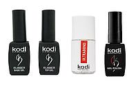 Набор Kodi Base 8 мл + Top 8 мл + Гель-лак Kodi + Ultrabond