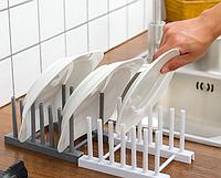 Органайзер-подставка для посуды и крышек