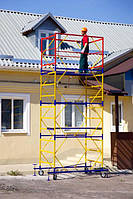 Вышка тура строительная передвижная 1.7 х 0.8 м 1+1