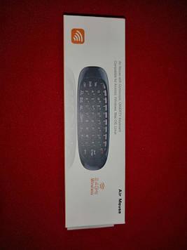 Аэромышь з клавіатурою (пульт з гіроскопом) Air Mouse GTM I8 C120