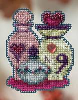 """Набор для вышивания """"Love Potions//Любовные зелья"""" Mill Hill MH184203"""