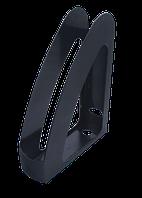 Лоток вертикальный Арника пластиковый чёрный