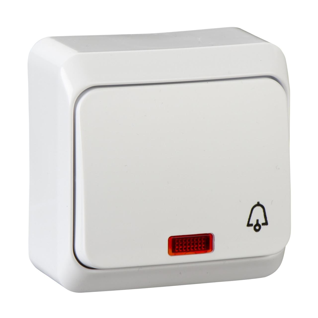 Кнопка с подсветкой Schneider Prima IP20