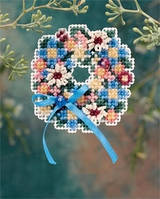 "Набор для вышивания ""Spring Wreath//Весенний венок"" Mill Hill MH186106"