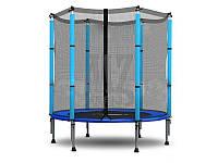 Батут SkyJump диаметром 140см спортивный для детей c внешней сеткой