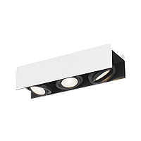"""Світильник стельовий Eglo 39317 3х5,4W LED білий/ чорний """"Відаго"""""""