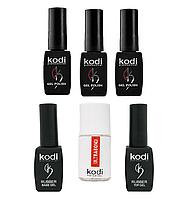 Стартовый набор Kodi Base + Top + 3 гель-лака Kodi + Ultrabond